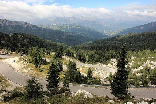 Mountain, Nature, Landscape, Tree, Travel, Sky