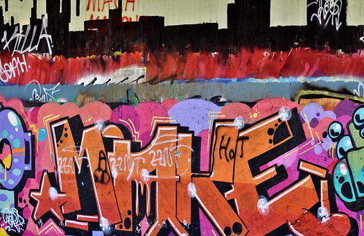 Graffiti, Lost Places, Abandoned Train Station
