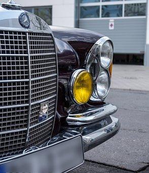Auto, Mercedes, Oldtimer, W111, Cabriolet