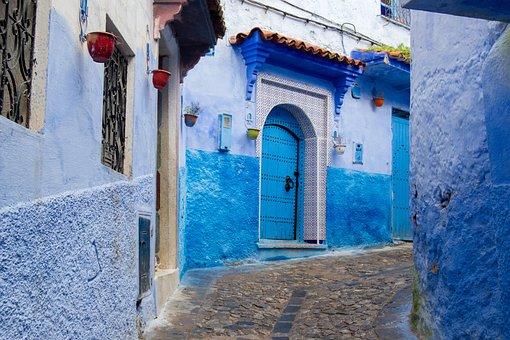 Chaouen, Chefchaouen, Morocco, Xauen, Architecture