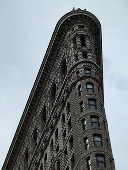 Architecture, Building, City, Sky, Tower, New York, Nyc