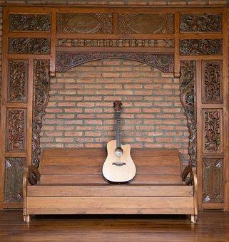 Wood, Furniture, Home, Ornament, Woods, Guitar, Bank