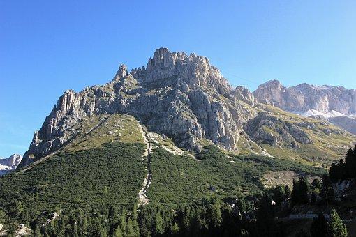 Mountain, Nature, Sky, Travel, Landscape, Panorama