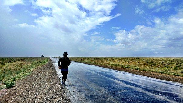 Nature, Sky, Waters, Landscape, Panorama, Rain, Run