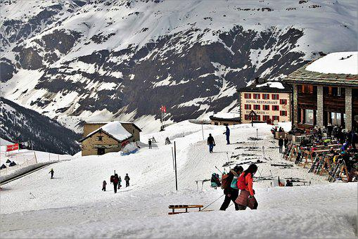 The Alps, Zermatt, Stok, Tops, Skiing, Snow, Ski