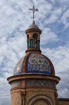 Architecture, Travel, Sky, Bridge, Seville, Spain