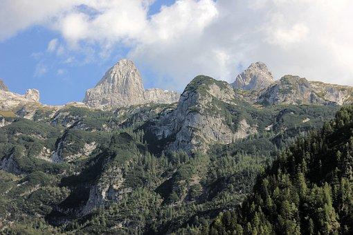 Mountain, Nature, Sky, Travel, Landscape, Tree