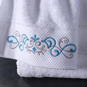 Towel, Cotton, Textiles, Fabric