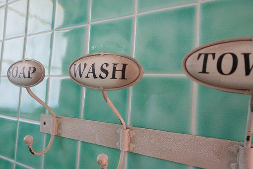 Bathroom, Towel, Towel Bar, Washroom
