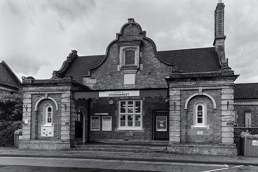Architecture, Old, Building, Trains, Stowmarket