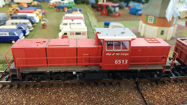 Transport, Motor, Train, Vehicle, Railway Line