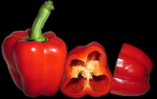 Capsicum, Red, Vegetable, Food, Cooking