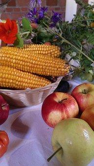 Food, Fruit, Vegetables, Agriculture, Background