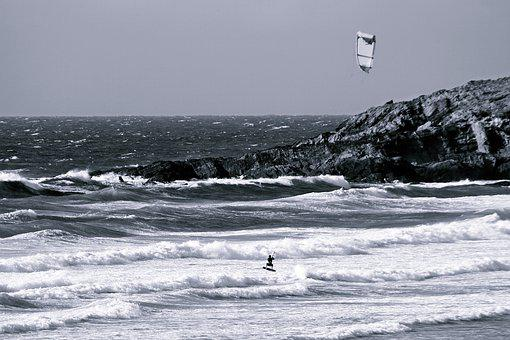 Waters, Sea, Surf, Coast, Wave, Wind Surfing