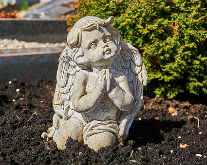 Sculpture, Angel, Statue, Nature, Stone, Grave