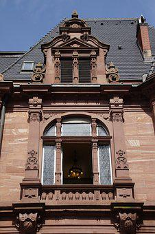 Architecture, Home, Old, Building, Window, Heidelberg