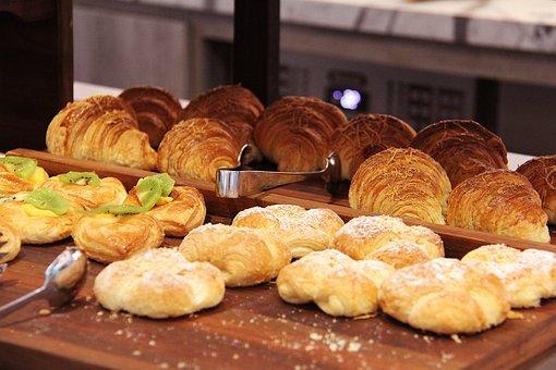Bread, Yummy, Breakfast, Hotel, Surabaya, Indonesia