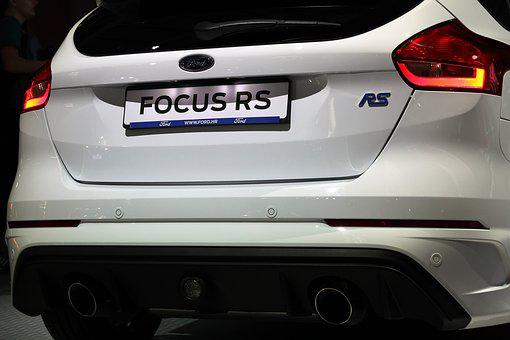 Car, Ford Focus Rs, Auto Show Zagreb 2018, Modern