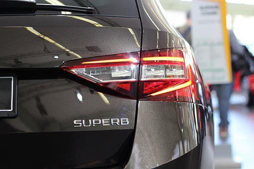Car, škoda Superb, Auto Show Zagreb 2018, Modern, Power