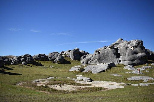 Landscape, Nature, Outdoors, Rock, Sky, Castle Hill