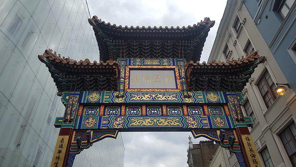 London, Gate, China