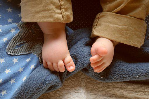 Hand, Human, Clothing, Girl, Close Up, Feet, Legs, Baby