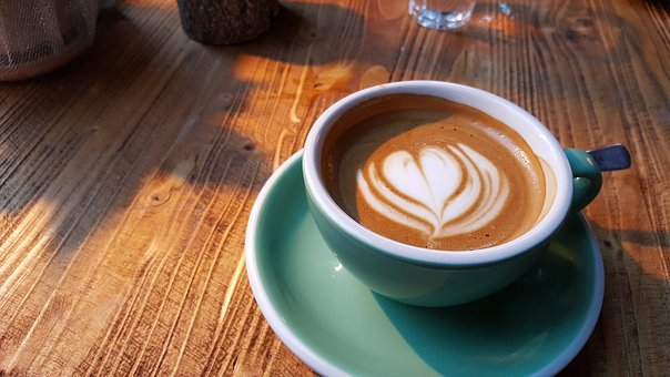 Coffee, Cup, Drink, Wood, Espresso, Hot, Table