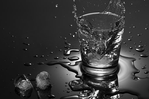 Glass, Water, Splash, Cool Color, Bar, Clean, Party