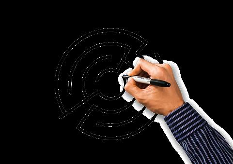 Hand, Draw, Labyrinth, Business, Planning, Plan B