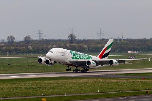Aircraft, Airport, Flight, Runway, Passenger Aircraft