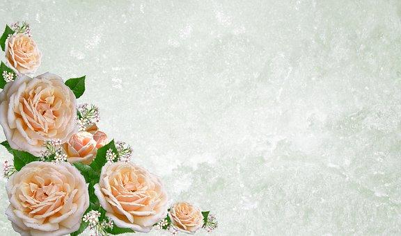 Greeting Card, Flower, Wedding, Desktop, Bouquet, Rose