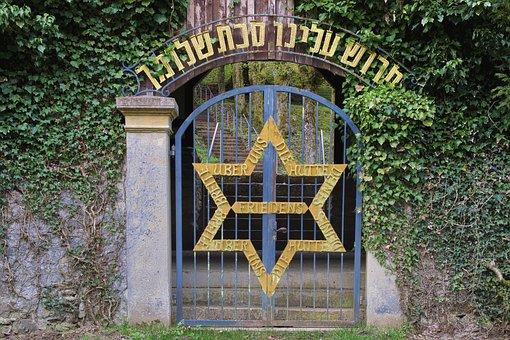 Cemetery, Jewish Cemetery, Old, Input, Star Of David