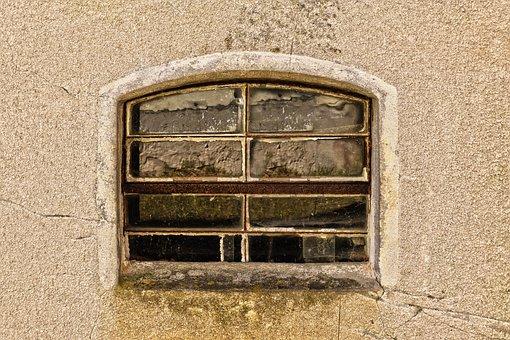 Window, Old Window, Install Window, Wall, Facade