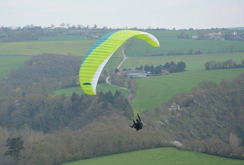 Paragliding, Bend Paragliding, Paraglider, Flight