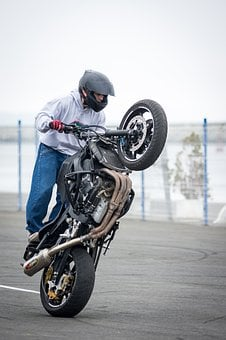 Bike, Wheel, Motorbike, Biker, Race, Motorcyclist