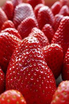 Fruit, Strawberry, Berry, Food, Dessert, Savory