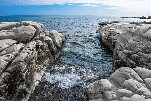 Sea, Seashore, Cove, Nature, Landscape, Rock