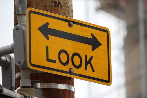 Road, Traffic, Signalize, Look, Sign