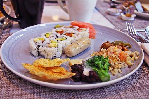 Breakfast, Hotel, Surabaya, Indonesia, Jw Marriott