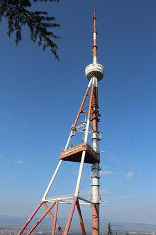 Tv Broadcasting Tower, Tbilisi, Georgia