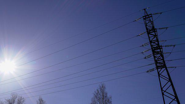 Sky, Electricity, Wire, Energy, Power, Voltage
