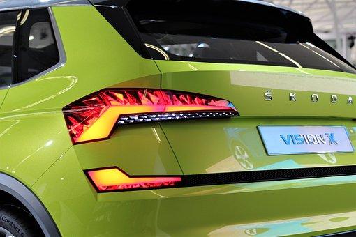 Car, škoda Vision X, Auto Show Zagreb 2018, Modern