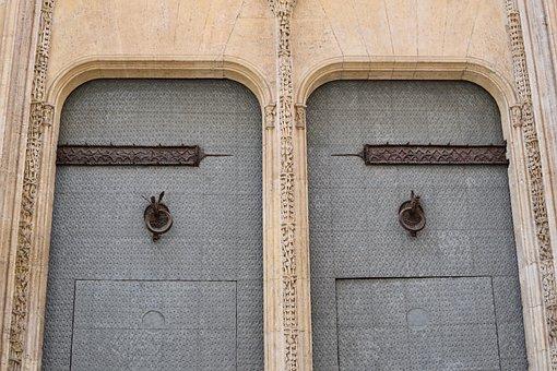 Architecture, Art, Door, Building, Old, Facade