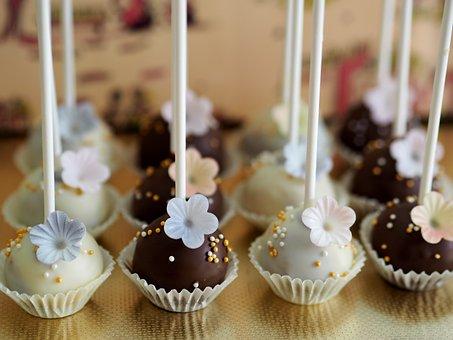Dessert, Chocolate, Cake, Cream, Food, Cake Pops