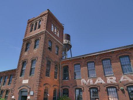 Architecture, Old, Building, City, Sky, Marathon Motors