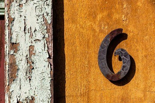 Six, Wood, Door, Architecture, Home, Input, Old, Window