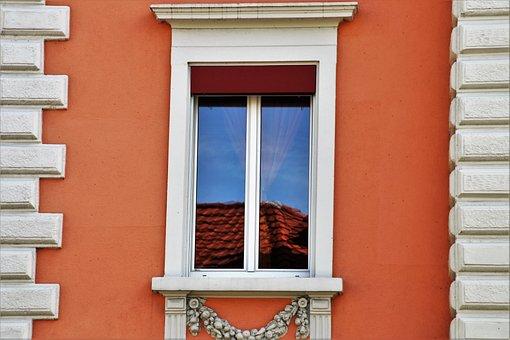 Architecture, House, No One, Lake Dusia, Window