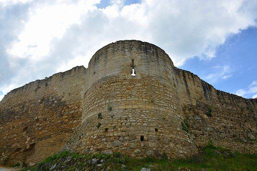 Castle Tower, Castle Cliff, Tower, Murderous, Rampart