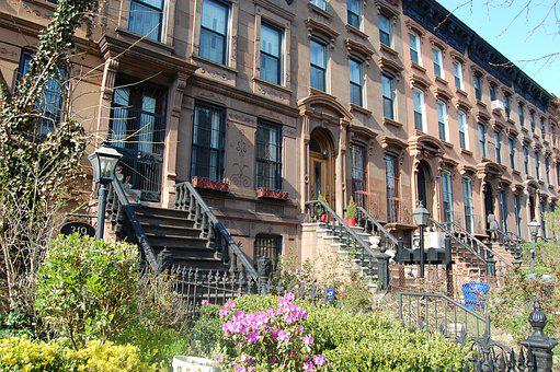 Architecture, House, Building, Old, Street, Brooklyn