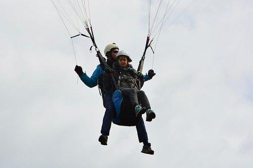 Paragliding, Paragliding Bis Place, Paraglider Lou